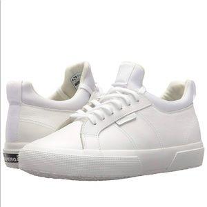 Superga Classic White Sneakers Size 7.5